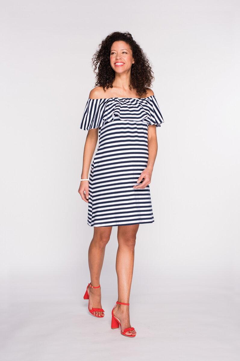 Tehotenské šaty Cool Mama Seniorita 7e8c3f7a1d2