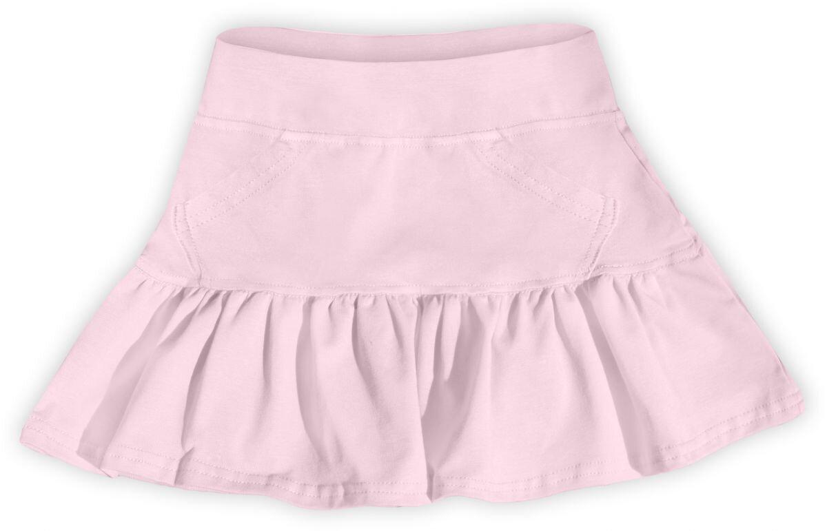 ddcddd6bf273 Dievčenská bavlnená suknička svetloružová - Tehotenské oblečenie ...