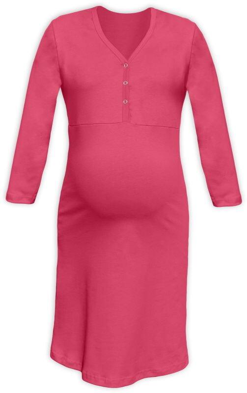 b367c44fb Nočná košeľa na dojčenie s 3/4 rukávom lososová - Tehotenské ...
