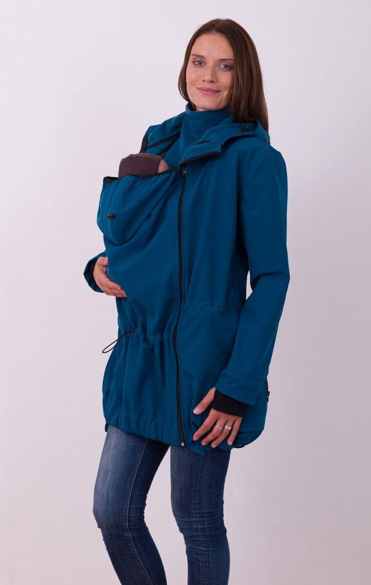 f01c80ebae91 Pavla Petrolejová - softshellová bunda na predné nosenie detí ...