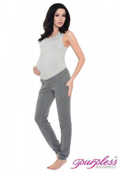 e4b16e53a Tehotenské tepláky Betty Light Gray - Tehotenské oblečenie ...