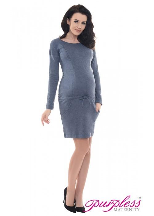 d60f713b384a Šaty Daisy Jeans Melange - tehotenské