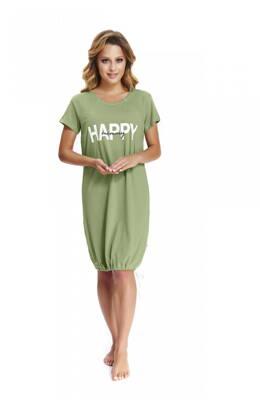 5cb35626c3 Nočná košeľa Happy Green