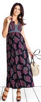 7cb5e8c80b Spoločenské šaty na dojčenie Happymum - Tehotenské oblečenie ...