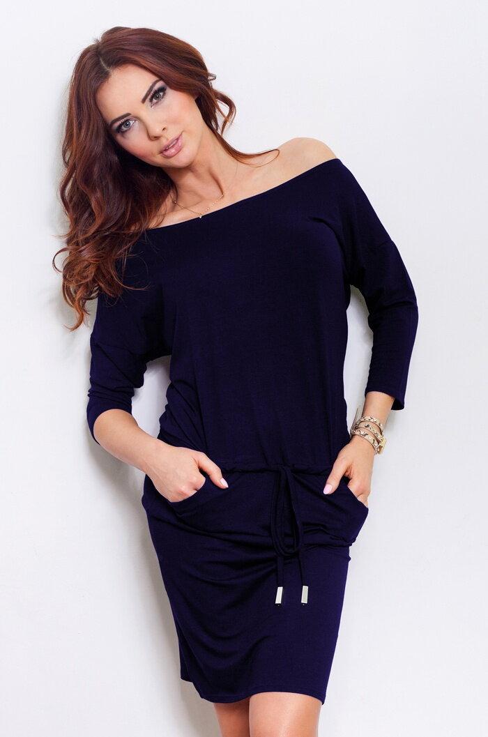 35c618c2e Športové dámske šaty Gladys, Dark Blue (13-15)